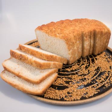 Pão de Linhaça: forma 850g