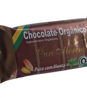 Chocolate com Menta (barrinha de 20g) – Ouro Moreno