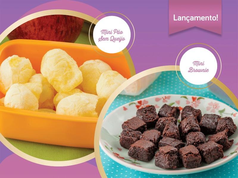 Nova linha de produtos Mandala Comidas, em parceria com a Danone Nutricia
